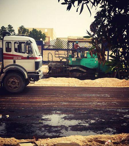 Construction Site Roadsidephotography Smartphonephotograhy Manatwork