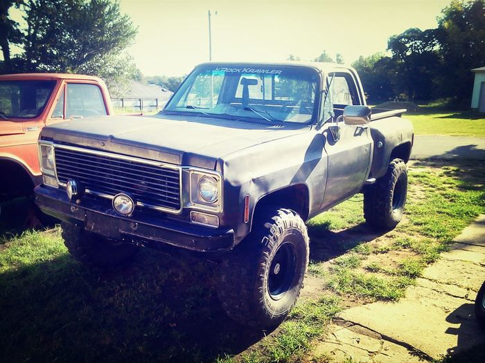 my Truck 77 Chevy the Mudslut as i call her.. Justatoy