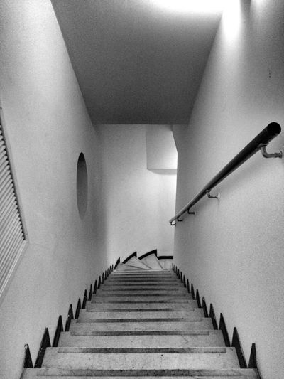 Stairs IPhone IPhoneography Iphoneonly Monochrome_life Noiretblanc Black And White Blackandwhite