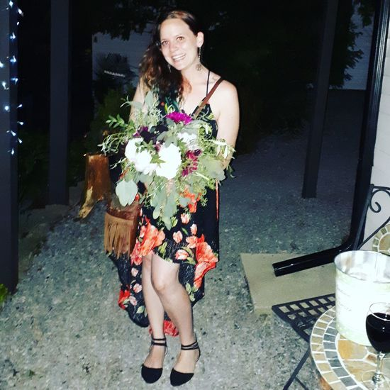 Wesding bells Im Next Happy Girl  Beautiful Bouquet