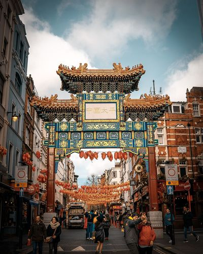 Architecture Built Structure Building Exterior Sky Cloud - Sky City Real People Group Of People Men Lifestyles Nature Leisure Activity Outdoors Day Large Group Of People Building Incidental People Transportation Decoration Women