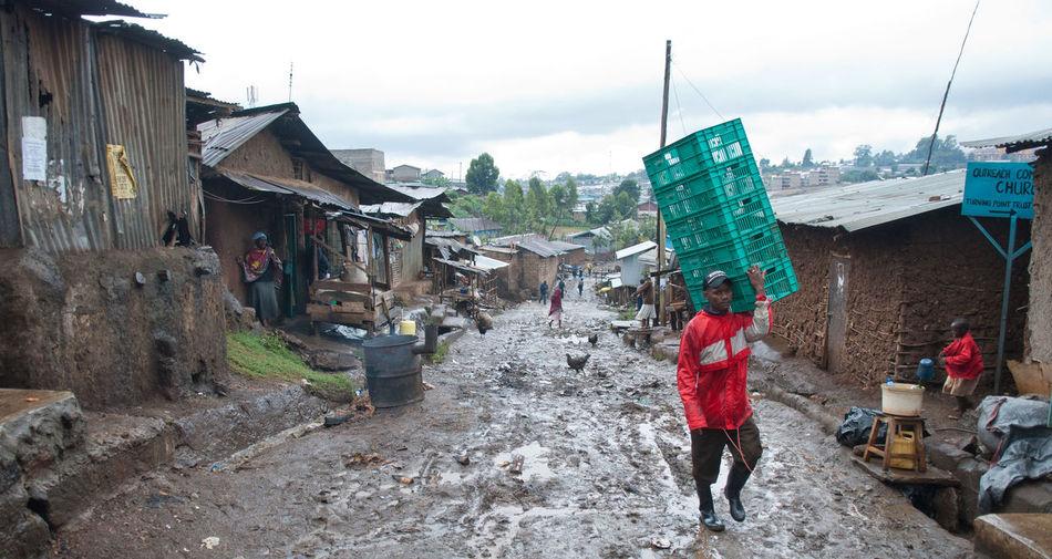 Kibera Nairobi Portraits Slum