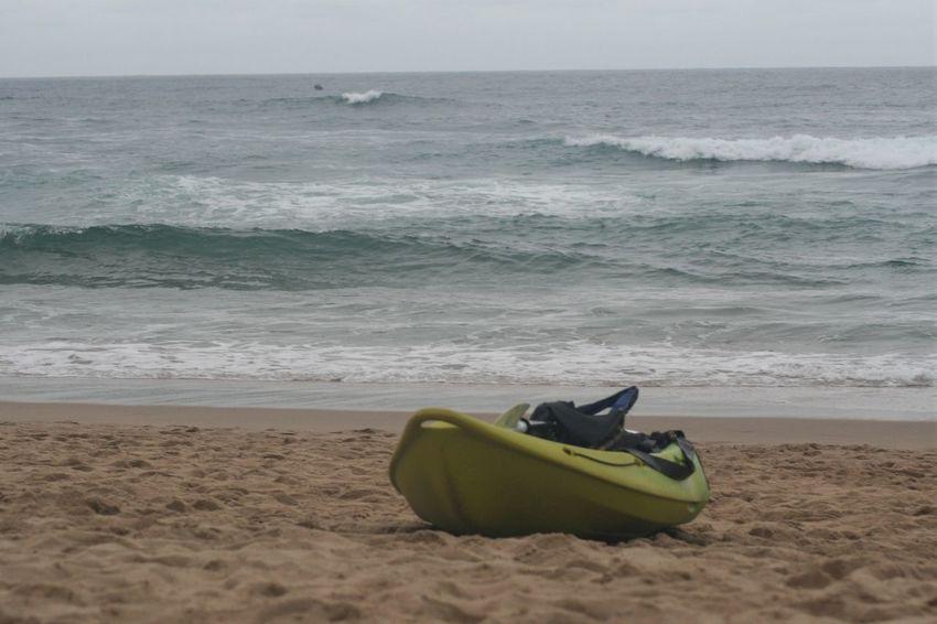 Beach Beauty In Nature Horizon Over Water Kayak KwaZulu-Natal Coast Nature No People Outdoors Sand Scenics Sea Shore Tranquility Water