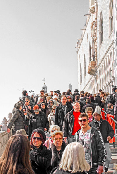 VENICE, ITALY -Bridge of Sight: tourists attending the traditional Carnival crowd Riva degli Schiavoni near palazzo Ducale Adult Architecture Bridge Bridge Of Sights Bustling Carnival Crowds And Details Clear Sky Crowd Day Event Festival Large Group Of People Men Outdoors Palazzo Ducale People The Street Photographer - 2017 EyeEm Awards Togetherness Tourism Tourists Tradition Traditional Venice, Italy Women Young Adult