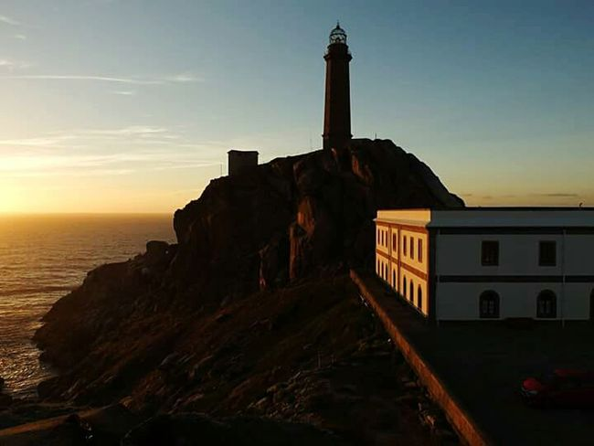 Cabo Vidal, Galicia Light And Shadow Photooftheday Galicia, Spain Northern Spain Galizia Sunset_collection Lighthouse My Point Of View Pictureoftheday España 🌞 Spagna Hello World ✌ Eye4photography  Mypointofview Travel Photography Travel Traveling España🇪🇸 Sunset Silhouettes Sunset Sunlight