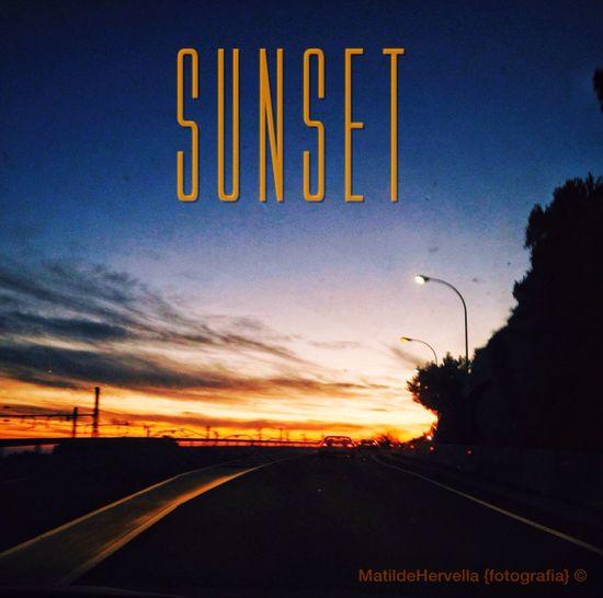 Sunset Arenys De Mar Atardecer