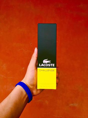 Lacoste Human Hand Human Body Part Communication One Person Close-up Day Outdoors People
