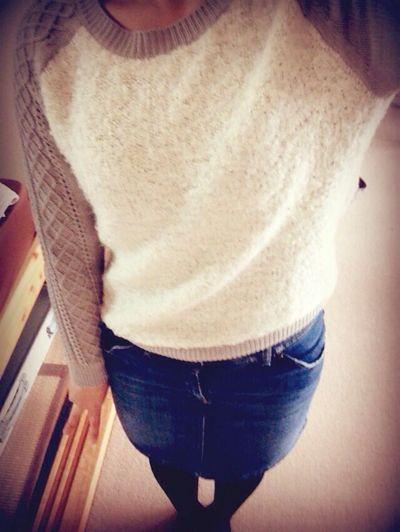 code??? Code Fashion スカート Skirt セーター Sweater おしゃれ お洒落 服 洋服