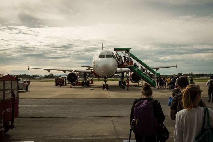 Airplane Airport On The Way Suratthani Thailand Thailand_allshots Travel Travel Photography Traveling