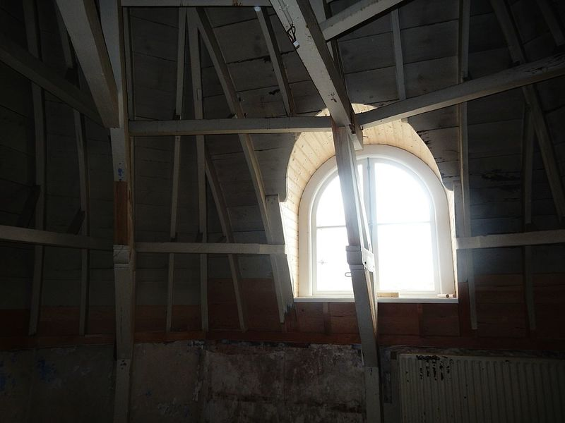 Decay Indoors  No People History Built Structure Day Architecture Restoration Work Window Daylight Overlighting Abandoned