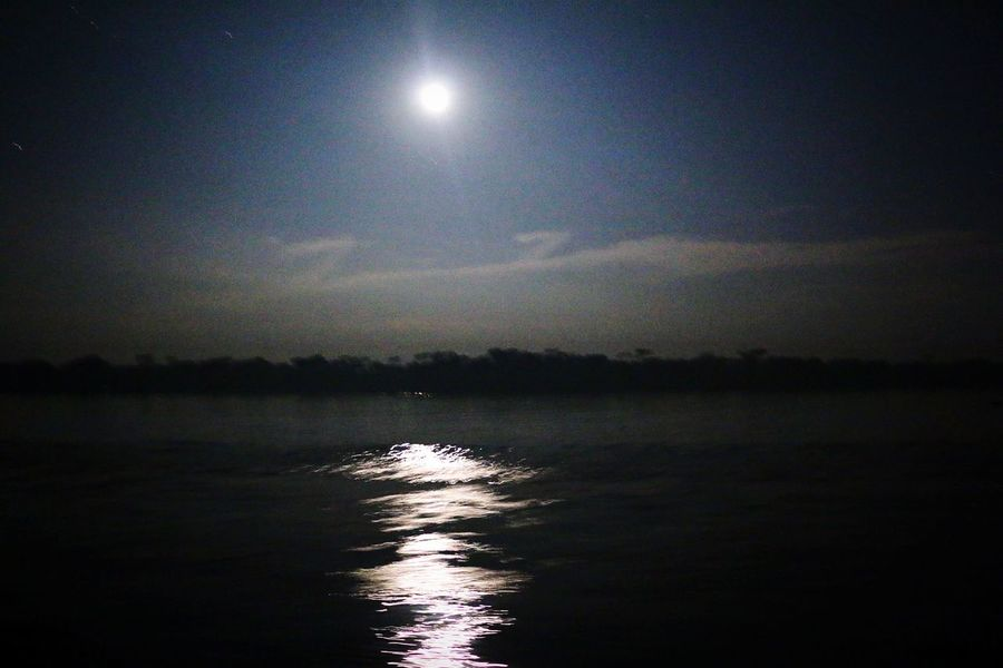 EyeEm Selects Midnight Full Moon with Bright light !!! Moon Night Moonlight Reflection Water Sky Nature Scenics Outdoors Beauty In Nature No People Midnight Sky Motion Capture Waves Moving Riverscape Blue Water Blue Sky Bright Moon Bangladesh 🇧🇩 The Week On EyeEm EyeEmNewHere Mix Yourself A Good Time Your Ticket To Europe Paint The Town Yellow Been There.