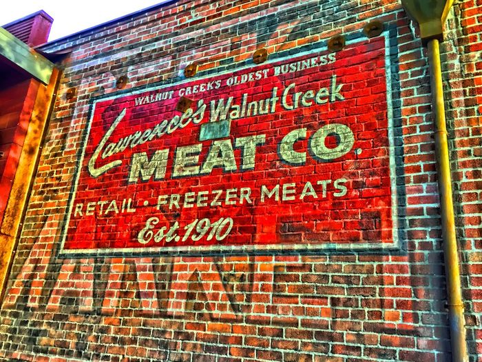Historic Walnut Creek, CA meat market building. WalnutCreek Historical Building History Old Buildings