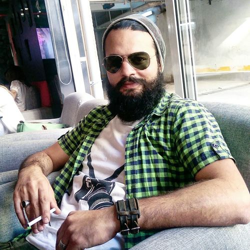 Relaxing Coffee ☕ Tunisia Model Beard Enjoying Life Htc One M8 HTC_photography Followers Taking Photos