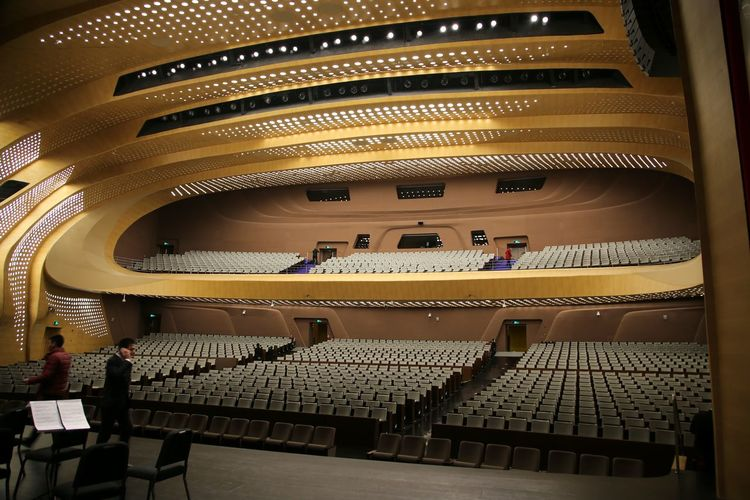 Concert Hall China Interior Architecture Arts Culture And Entertainment Auditorium Balcony Concert Hall  Illuminated Indoors  Nightlife People Performing Arts Event Seat Stage - Performance Space Indoors  Concert Hall  Concert Photography Concert Hall  Concert Hall China Indoors  Concert Hall  Indoors  Concert Hall