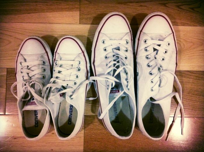 Mr & Ms Star, All Star ;-) Converse⭐ Love Shoes All Star Picoftheday Walk With Me Comfy  Forever Young He&she