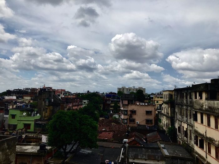 Clouds. Architecture Building Exterior Sky Built Structure Cloud - Sky No People City Day Outdoors Cityscape