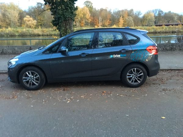 BMW 216x, Drive Now, Car to Rent, Bmw Rent A Car Car To Rent Transportation Mode Of Transportation Car Motor Vehicle Land Vehicle Tree Day Road Outdoors