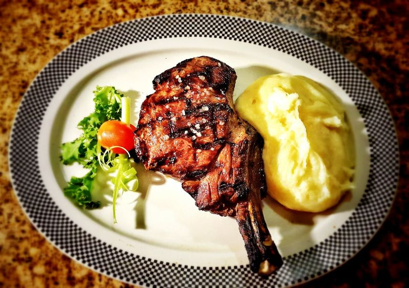 Ribeye Steak Plate Food Ready-to-eat Freshness Steakhouse EyeEmNewHere