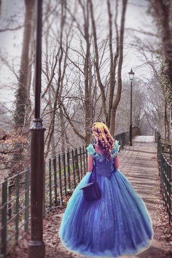 Cindarella Waiting Princess Prince Charming Fairytale  Fairytales & Dreams Fairy Tale Path Pathway Treelined Lamp Post Enlightapp Women Who Inspire You Surreal Fantasy Comiccon Here Belongs To Me Lost In The Landscape