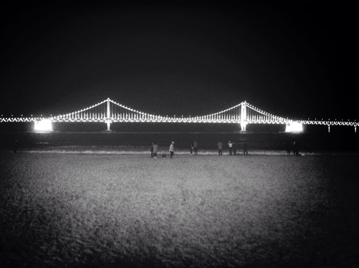 Winter Seaside 부산 Busan Gwangan Bridge