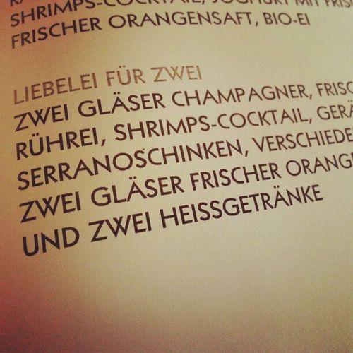 #champagner #frühstück Frühstück Champagner