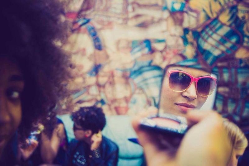 Plötzlich Am Meer Portrait Notes From The Underground Reflection Backstage Eye4photography  EyeEm Marie Chatard Mirror Girl Power