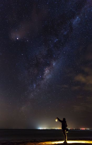 My plan was going to chase the Eta Aquarid meteor, unfortunately weather was not too friendly that night. Took this picture before packed up and head home. EyeEm Nature Lover Lifeofadventure Landscape_Collection Stars The Great Outdoors - 2016 EyeEm Awards People Night Australia EyeEm Best Shots Long Exposure Milkyway Fresh On Eyeem  Atmosphere Melbourne Astronomy Astrophotography Landscape Landscape_photography Night Lights Hello World Universe Point Leo Melbourne The Following Starry Night