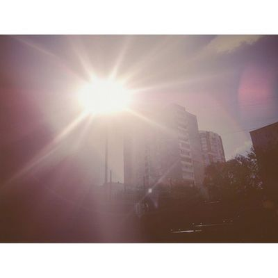 16ое было не очень так... но погода была чудесна ♥ отрадное Москва Россия свао солнце осень svao moscow russia sun autumn