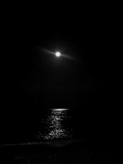 with Moon light
