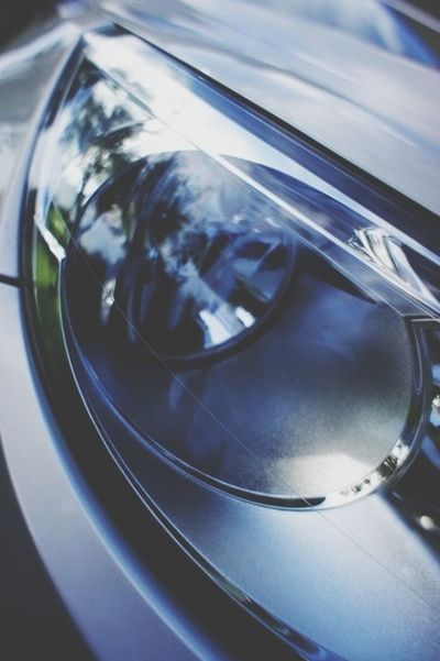Volkswagen Head Lights Details Detail Of
