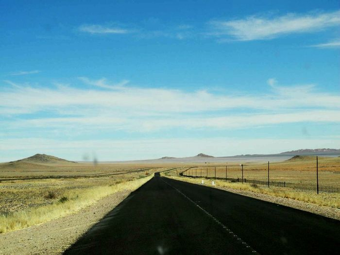 Deserts Around The World Road from Aus to Lüderitz Namibia this is a lonely road through the diamond area. you are not allowed to stop anywhere along the road (c) Shangita Bose 2015 All Rights Reserved. My Best Photo 2015 The KIOMI Collection The Great Outdoors With Adobe The Street Photographer - 2016 EyeEm Awards The Photojournalist - 2016 EyeEm Awards Nature's Diversities My Commute Need For Speed Feel The Journey MeinAutomoment The Drive