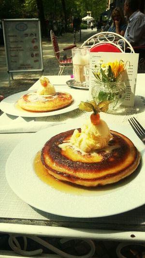 Best Pancakes in Berlin!! (Schönes Cafe, Dieffenbachstr. 54, 10967)