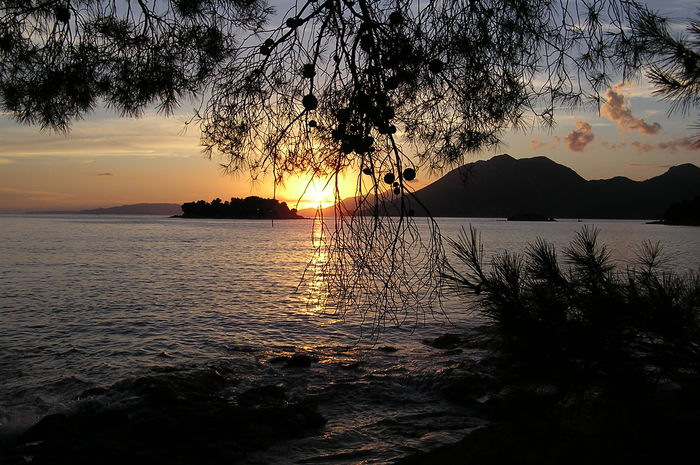 Sunset Tranquility Beauty In Nature No People Croatia
