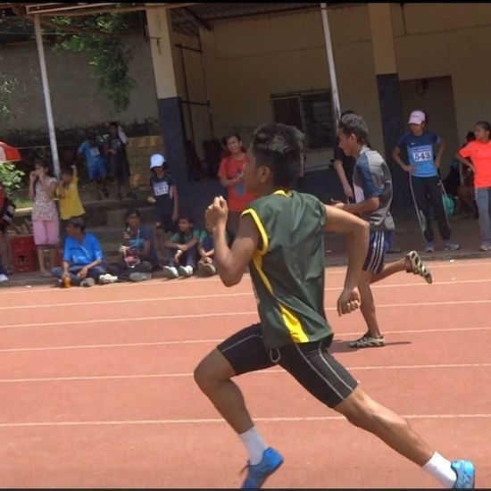 Districtlevel DSO Mumbai 2014 400m  Sprint Synthetic Tracks 2nd Position Fit TrackNation Run Runner Running Tagsforlikes Fit Runtoinspire Furtherfasterstronger Seenonmyrun Runhappy Instagood Time2run Instafit Happyrunner runners instarunner instarun like4like follow4follow