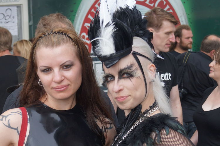 Day Event Goth Gothic Style Mera Luna Festival Mid Adult Outdoors People Portrait Real People