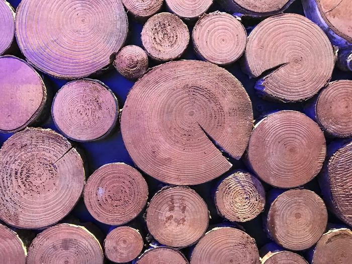Backgrounds Full Frame Abundance Large Group Of Objects Wood Shape Timber Stack Pattern Wood - Material Textured  Geometric Shape Log Circle Design No People Close-up
