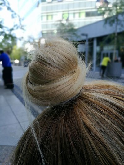 Hair Outdoors People Adult Adults Only Real People Close-up Belgrade Creative Hairbuns EyeEm Selects