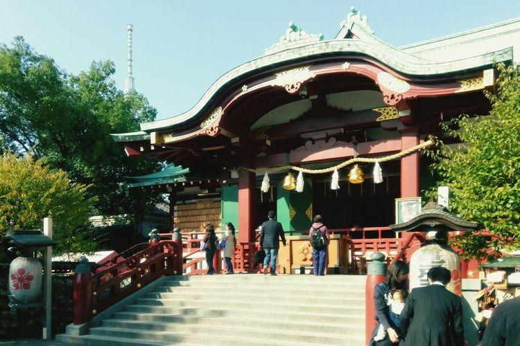 亀戸天神 神社 Kameido Tenjin Shrine