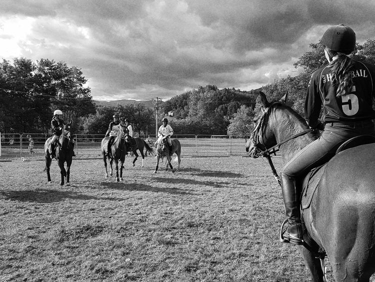 Blackandwhite Outdoors Domestic Animals Real People Countryfair Day Nature Country People Country Life Horse Horserider Carousel Horse Horses Horseball Taking Photos Cellphone Photography Enjoying Life