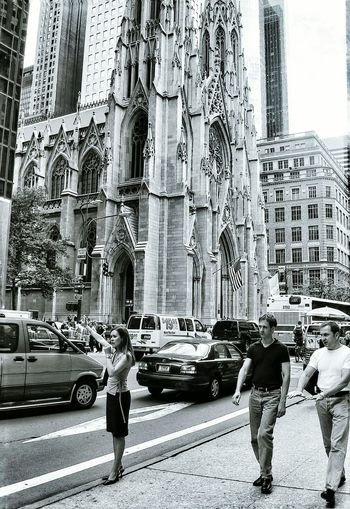 One of my early street photography captures. Captured in New York with St Patricks in the back ground. Love the animation of the characters. City Life Street Architecture On The Move Motion Street Photography Battle Of The Cities Streetphotography Streetphotography_bw New York New York City Blackandwhite Black And White Black & White Black And White Photography Church Architecture Churches Architecture Film Filmisnotdead Film Photography 35mm Film St Patrick's Cathedral Hailing A Cab New York Street Photography Neighborhood Map