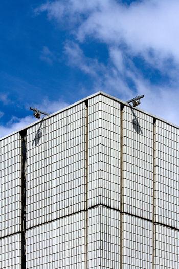 Roxy, Sheffield Architecture Brutalist Building Exterior Built Structure Cloud - Sky Geometric No People Sky Tiles White Brutalism