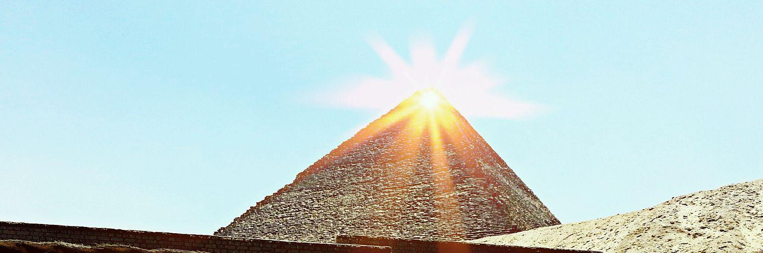 Hidden Gems  The Great Pyramid Ancient Pyramids Shiny First Eyeem Photo