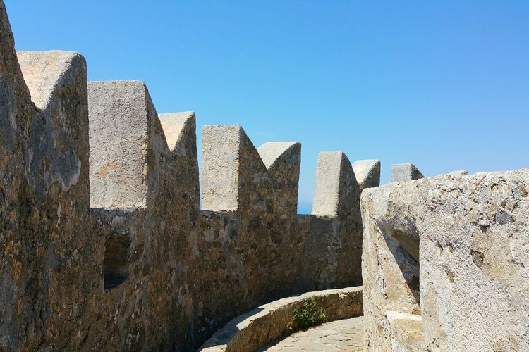 History Abstract Day Business Finance And Industry No People Outdoors Sky Architecture Ancient Civilization Close-up Battlement Battlements Tower Castle Architecture