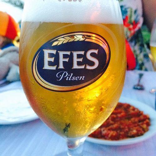 Er lov med en kald en på ferie 😁 Efes Tyrkia Side Ferie