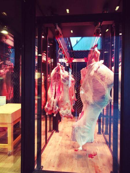 Viande Carcass Ribs Meat Shop Shop Boucherie Store Clothing Store Store Window Retail