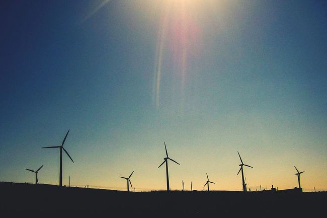 Wind Turbine Clean Energy Renewable Energy Energy Popular Clean Air Wind Energy Wind Farm World Wind Power Wind Power Generator The Great Outdoors - 2016 EyeEm Awards EyeEm Gallery Envision The Future Blue Sky Blue Sky Nature And Technology Paint The Town Yellow