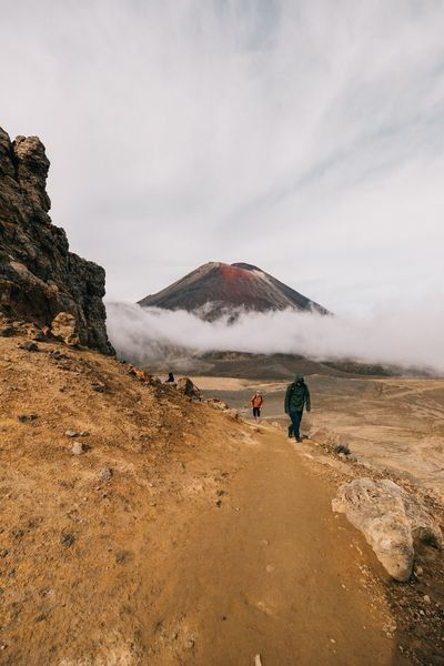 Mount Doom, Mordor 💪🏼 EyeEmNewHere Hikingadventures Canonphotography New Zealand Mordor Cloud Sky Nature Mountain Beauty In Nature Volcanic Landscape Lifestyles Power In Nature Scenics Cloud - Sky Landscape Outdoors