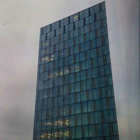 Photo by me 📷🌇🚌 Modernbuilding Building Germany Sky Sunset Bogdann2309 Like4like Likeforlike Instagram HDR