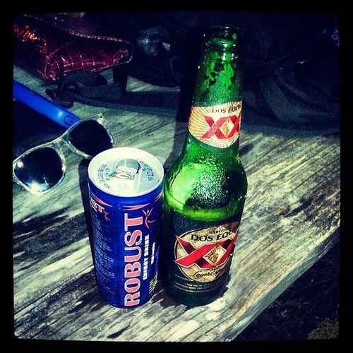 Xx Dos  Beer Robust energydrink Deweysbeergarden cerveza