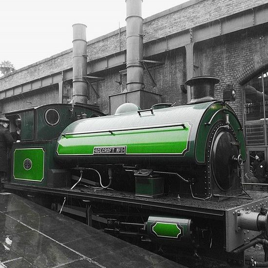 The Agecroft No. 1 about to leave Mosi Igersmcr Mcr_mosi_meet
